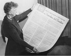 10 декабря Организация Объединенных Наций приняла Всеобщую декларацию прав человека