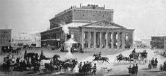 10 января В Москве открылся Петровский театр - предтеча Большого театра