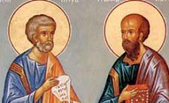 12 июля Праздник апостолов Петра и Павла