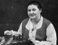 16 февраля родилась Вера Менчик - русская шахматистка, первая чемпионка мира по шахматам среди женщин