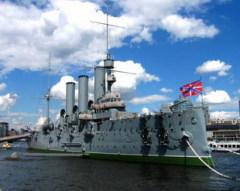 17 ноября В Санкт-Петербурге поставлен на вечную стоянку крейсер «Аврора»