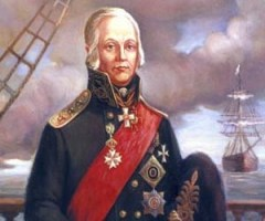 24 февраля родился Фёдор Ушаков -  русский флотоводец, адмирал