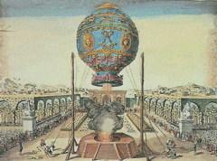 21 ноября Состоялся первый в истории полет человека на воздушном шаре