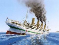 21 ноября В Эгейском море затонул «Британик» — корабль-близнец «Титаника»