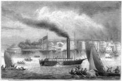 15 июля Поплыл первый в истории пароход