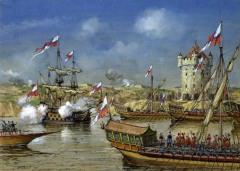 19 июля - Русскими войсками была взята турецкая крепость Азов