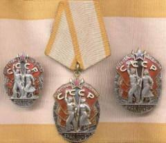 25 ноября ЦИК СССР учредил орден «Знак Почета»