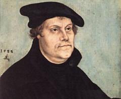 10 ноября Мартин Лютер - основатель протестантского течения «лютеранства»