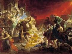 24 августа Извержение вулкана Везувия уничтожило города Помпеи и Геркуланум