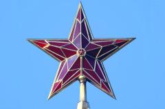 23 августа заменены двуглавые орлы на башнях Кремля пятиконечными звездами