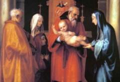 2 февраля Сретение Господне у западных христиан