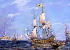 2 февраля Издан указ Петра I, положивший начало Балтийскому флоту