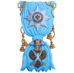 30 ноября Петром I учреждена первая (и высшая) награда России – императорский Орден Святого апостола Андрея Первозванного