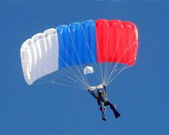 3 июня Франсуа Бланшар продемонстрировал сконструированный им парашют