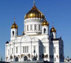 7 июня В Москве был освящен храм Христа Спасителя