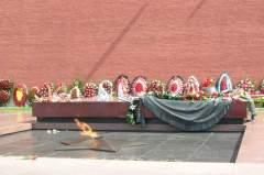 3 декабря У Кремлевской стены состоялось торжественное захоронение останков Неизвестного солдата