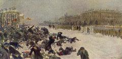 22 января Кровавое воскресенье. Начало революции 1905 года