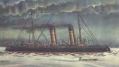 23 октября Начался героический дрейф в Арктике ледокольно-транспортного судна «Георгий Седов»