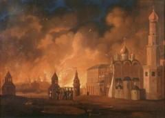 14 сентября Армия Наполеона вступила в опустевшую Москву