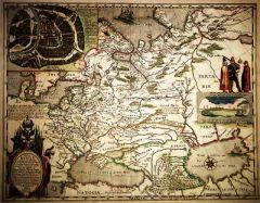 26 января Первый печатный вариант карты Руси