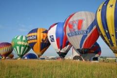30 сентября стартовали первые международные состязания пилотов аэростатов