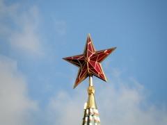 2 ноября установлены рубиновые звезды на пяти кремлевских башнях
