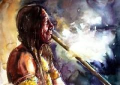6 ноября Христофор Колумб познакомился с табакокурением