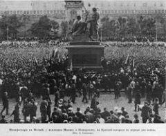 4 марта В Москве состоялось открытие памятника Кузьме Минину и князю Пожарскому