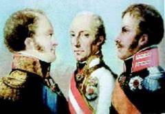 26 сентября Австрия, Пруссия и Россия заключили Священный союз