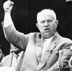 16 января Никита Хрущёв заявил миру о создании в СССР водородной бомбы