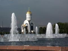 23 февраля на Поклонной горе заложен памятник Победы