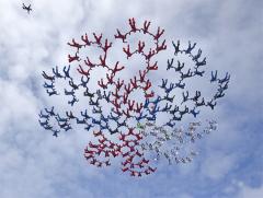 6 февраля Поставлен рекорд в купольной акробатике — 357 парашютистов образовали гигантский цветок в небе Таиланда