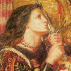 6 января родилась Жанна Д'Арк - национальная французская героиня