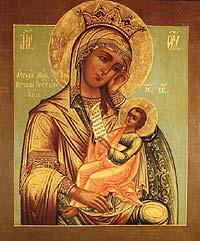 7 января Икона Божией Матери, именуемая «Утоли моя печали»