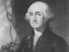 22 февраля родился Джордж Вашингтон - первый президент США