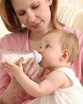 Выбираем молочную смесь для грудничка