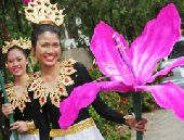 3 февраля Фестиваль цветов в Таиланде