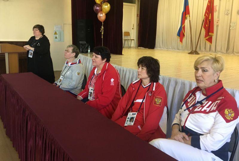 Встречи с олимпийскими чемпионами проходят в Уссурийске