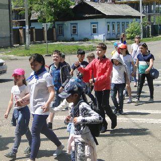 1 июня в МОУ СОШ № 25 начал работать летний лагерь отдыха
