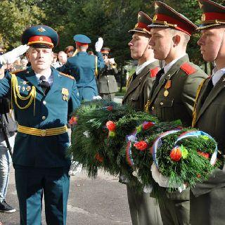 5-я Краснознамённая общевойсковая армия отметила 74-ю годовщину со дня образования