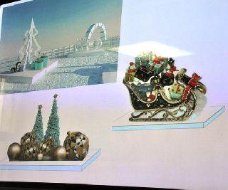Ледовый городок на центральной площади откроется 20 декабря
