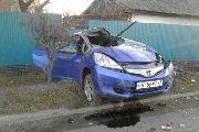 Девушка – водитель в Уссурийске чудом осталась в живых после серьезного ДТП (ФОТО, ВИДЕО)