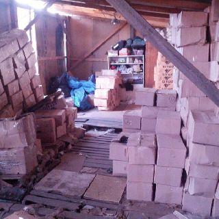 Семь тонн варено-мороженого краба обнаружены на территории частного домовладения в Уссурийске