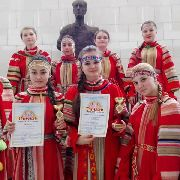 Ансамбль народной песни «Перезвон» покорил Санкт-Петербург