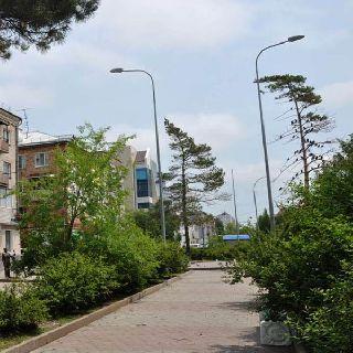 Новое освещение появится на бульваре вдоль улицы Плеханова