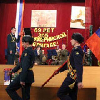 305 артиллерийская бригада отметила свой день рождения (7 фотографий)