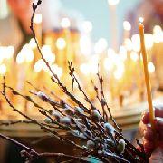 Православные верующие Уссурийска вступили в Страстную неделю