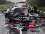 Страшное ДТП произошло на трассе под Уссурийском