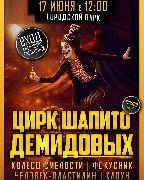 Цирк Демидовых даст бесплатное представление в парке ДОРА 17 июня в 12-00