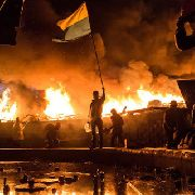 На площади Независимости в Киеве ввели «комендантский час»
